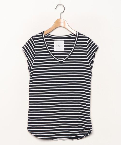 顔タイプ診断 大人向け ボーダーTシャツの選び方。